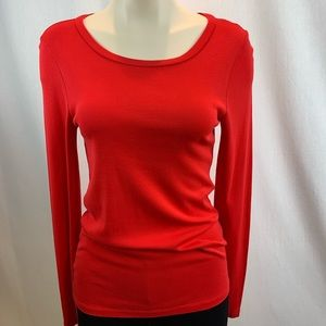 J.Crew Perfect Fit Long Sleeve Scoop Neck Shirt